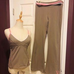 USED Victoria's Secret Activewear Set